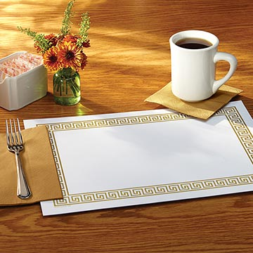 Disposable Placemats & Tray Covers