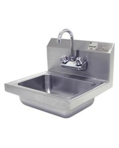 "Advance Tabco 7-PS-EC-1X 14"" Stainless Steel Hand Sink w/ Faucet"