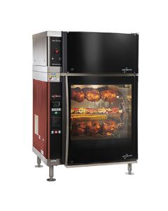 "Alto-Shaam AR-7EVH-SGLPANE 40""W Electric Rotiserrie Oven - 28 Chickens"