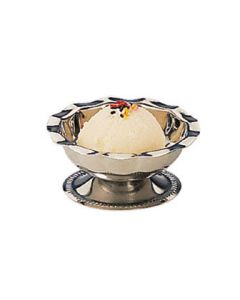 American Metalcraft 3500 3 1/2 oz Stainless Footed Sherbet Dish