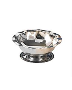 American Metalcraft 5000 5 oz Stainless Footed Sherbet Dish