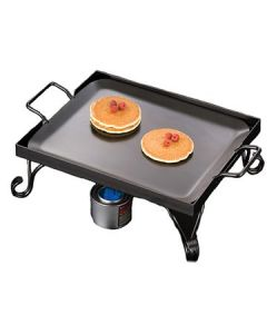 American Metalcraft GS16 Half Size Wrought Iron Griddle and Stand