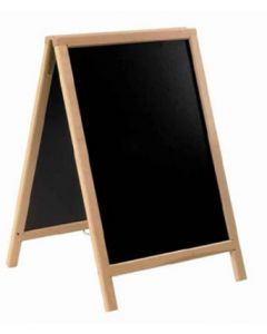 American Metalcraft SBDB85 Medium Natural Sandwich Board