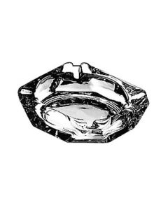 "Anchor Hocking 143U 3 5/8"" Square Glass Ash Tray"