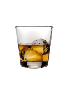Anchor Hocking 90253 Clarisse 12 oz Stackable Double Old Fashioned Glass