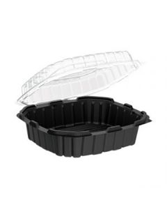 Anchor Packaging 4669109 Crisp Food Technologies 1-Comp Hinged Lid Takeout Container - 10.5