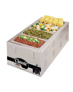APW Wyott Classic Insulated Cooker/Server, electric, 28.5 qt 4/3 size