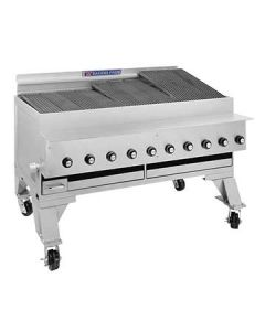 "Bakers Pride CH-10 55"" Heavy Duty Gas Charbroiler - S/S Radiants"