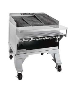 "Bakers Pride CH-6 33"" Heavy Duty Gas Charbroiler - S/S Radiants"
