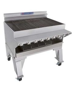 """Bakers Pride CH-8 44"""" Heavy Duty Gas Charbroiler - S/S Radiants"""