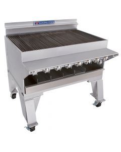 "Bakers Pride CH-8 44"" Heavy Duty Gas Charbroiler - S/S Radiants"