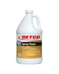 Betco 1260400 Spray Foam Heavy Duty Foaming Degreaser - 1 Gal