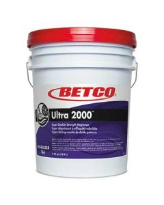 Betco 1360500 Ultra 2000 Heavy Duty Butyl Cleaner Degreaser - 5 Gal