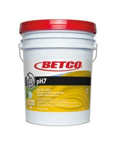Betco 1380500 PH7 Neutral Floor Cleaner Concentrate - 5 Gal Pail