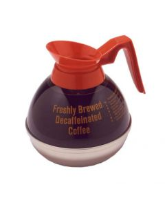 Bloomfield DCF10115O1 Decaf Unbreakable Decanter, orange handle