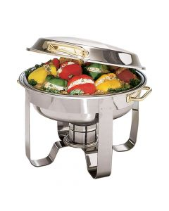 Boelter 6 Qt Deluxe Round Chafing Dish