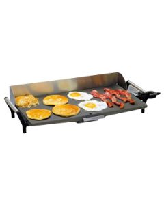 """Cadco PCG-10C 29"""" Portable Buffet Electric Griddle - Thermostatic Controls"""