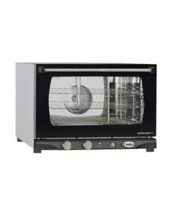 Cadco XAF-113 LineChef Stefania 1/2 Size Convection Oven w/Man. Cntrls