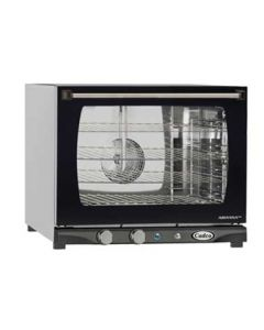 Cadco XAF-133 LineChef Arianna 1/2 Size Convection Oven w/ Man. Cntrls