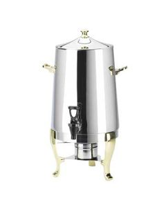 Cal-Mil 1009 Stainless Steel Coffee Urn - Flame Heat