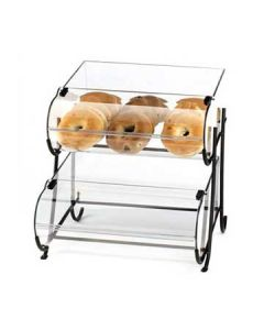 Cal-Mil Wire 2 Tier Display Stand With 2 Round Nose Bins