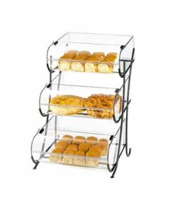 Cal-Mil Wire 3 Tier Display Stand With 3 Round Nose Bins
