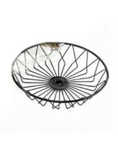 "Cal-Mil 12"" Round Wire Basket"