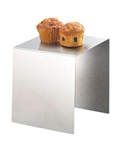 Cal-Mil 8x8x8 Stainless Steel Riser