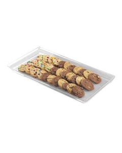 Cal-Mil 335-12-12 12x18x1 Clear Acrylic Shallow Display Tray