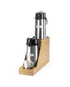 Cal-Mil Bamboo In-Line Airpot Stand