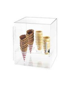 Cal-Mil 9 Hole Clear Cone Cabinet