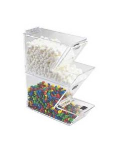 Cal-Mil Clear Stackable Yogurt Topping Dispenser