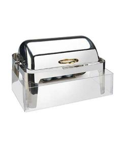 Cal-Mil 14x22 1/2 Clear Acrylic Chafer Windguard Only