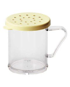 Cambro 96SKRC135 10 oz Clear Shaker w/Cheese Lid