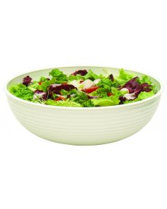 Cambro RSB12CW135 Clear 5.8 qt Round Ribbed Bowl
