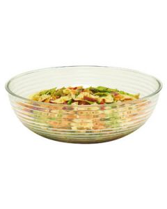 Cambro RSB15CW135 11.2 qt Clear Round Ribbed Bowl