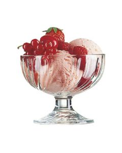 Cardinal 43121 Arcoroc 12 oz Swirl Optic Glass Dessert Dish