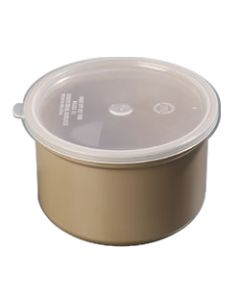 Carlisle 031606 Classic 1 1/2 Quart Beige Crock With Lid