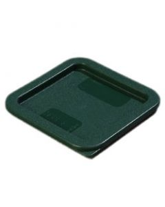 Carlisle 1074008 StorPlus Forest Green Lid for 2/4 Qt Square