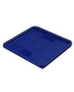 Carlisle 1074260 StorPlus Blue Lid for 12, 18, 22 Qt Square Container