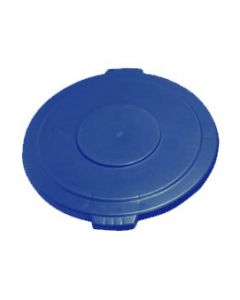 Carlisle 34104514 Bronco Blue Lid for 44 Gallon Round Waste Container