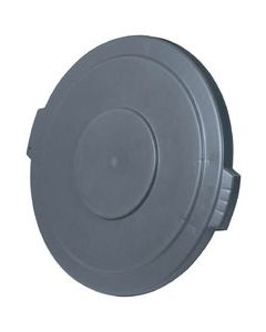 Carlisle 34104523 Bronco Grey Lid for 44 Gallon Round Waste Container