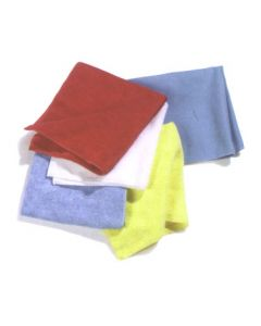 Carlisle 3633402 Polishing Cloth White Suede Finish Microfiber Fine