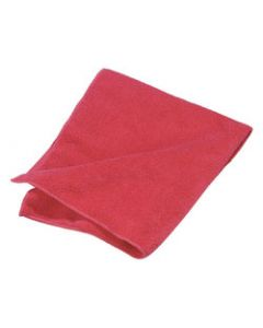 Carlisle 3633405 Fine Polishing Cloth Red Suede Finish Microfiber