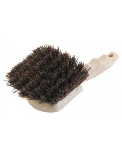 "Carlisle 3650501 Sparta 8-1/2"" Clean-Up Brush - Brown Bristles"