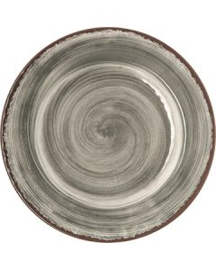 "Carlisle 5400218 Mingle 9"" Smoke Gray Melamine Salad Plate"