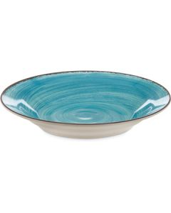 "Carlisle 5400315 Mingle 9"" Aqua Melamine Soup Bowl"