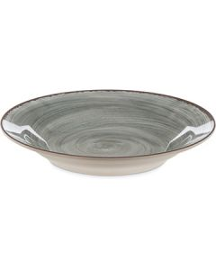 "Carlisle 5400318 Mingle 9"" Smoke Gray Melamine Soup Bowl"
