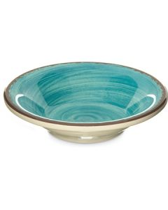"Carlisle 5401815 Mingle 5"" Aqua Melamine Fruit Bowl"