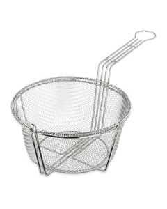 "Carlisle 601000 8-3/4"" dia Mesh Fryer Basket - Chrome-plated"